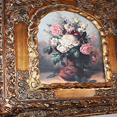 Rose painting at The Gables Inn